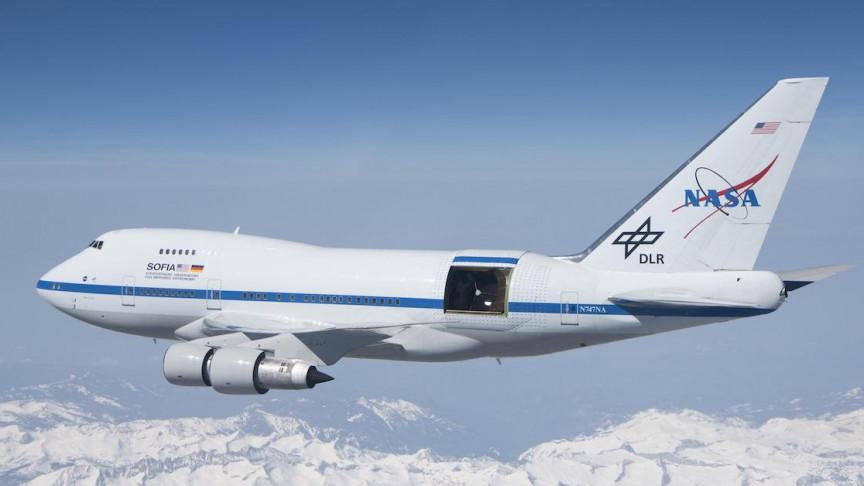 NASA's Flying Observatory SOFIA on Its First European Flight - Interesting Engineering
