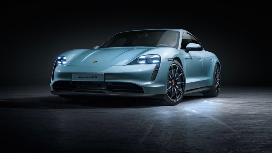 Porsche Unveils Entry-Level Taycan 4S All-Electric Sports Car