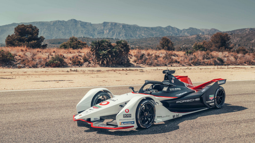 Porsche Reveals 99X Electric Race Car for New Formula E Season
