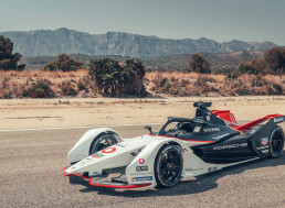 Porsche Reveals 99X Electric Race Car for New Formula E Season