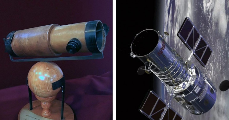 A Brief History of The Telescope: From 1608 to Gamma-Rays