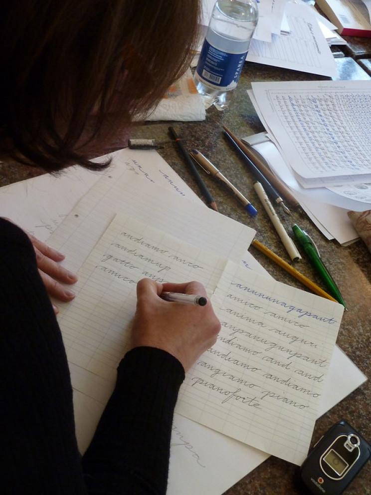 train your brain write down