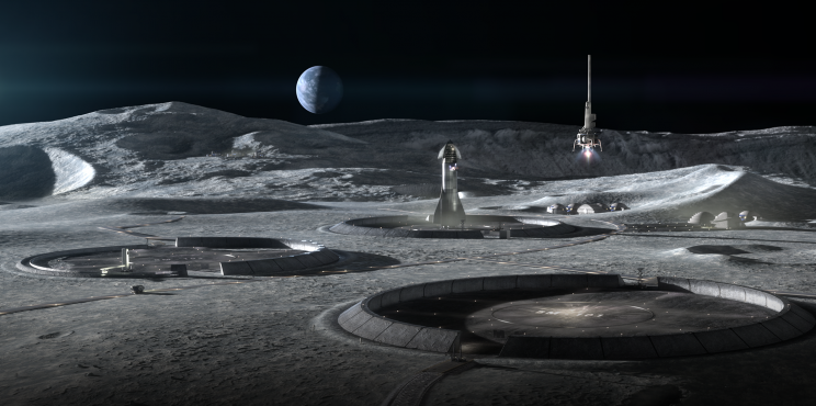 Astronauts Might Accommodate in 3D-Printed Houses on Moon