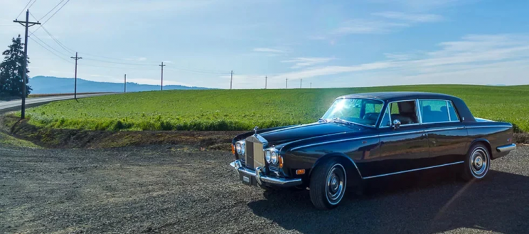 Rolls Royce, Formerly Owned by Johnny Cash, Gets Revamped With Tesla Parts