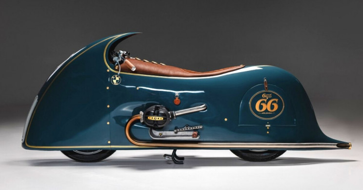 Kingston Builds Final Motorcycle of Art Deco BMW Trilogy, 'Good Ghost'