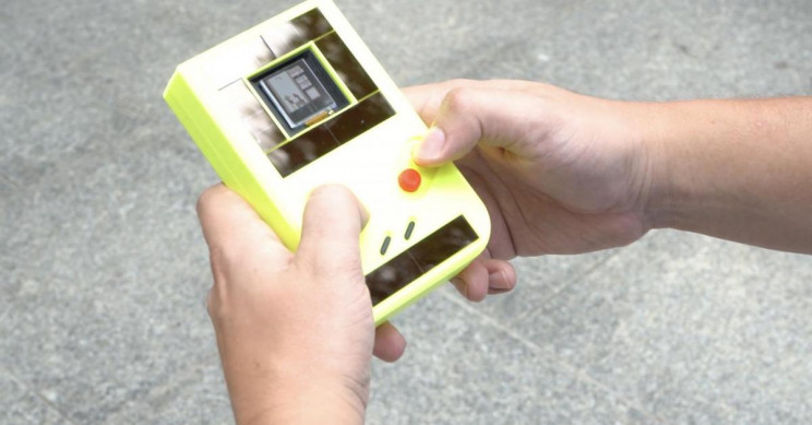 Battery-Free Game Boy Runs Forever on Kinetic Energy
