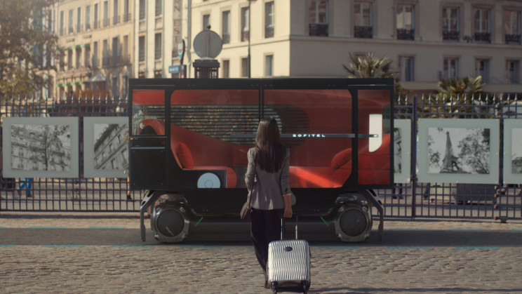 Citroën's Modular Platform Attaches to Luxury Lounge and Exercise Pods