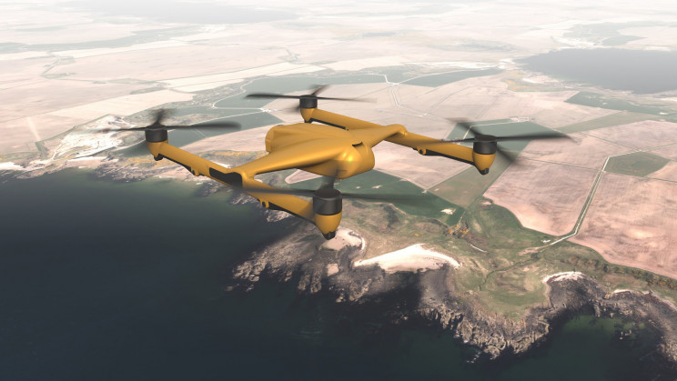 A New UK Super-Drone Could Lift 400 Pounds Out of Kill-Zones