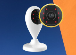 This HD Security Camera Features WiFi Connectivity and Night Vision