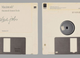 Floppy Disk With Steve Jobs Signature Just Sold for a Whopping $84,000 at an Auction