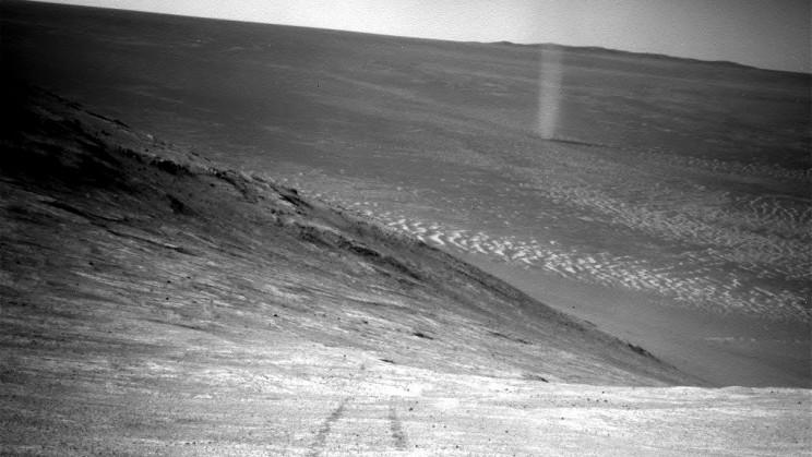 Dust Devil Mars