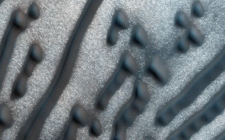 Martian Morse Code