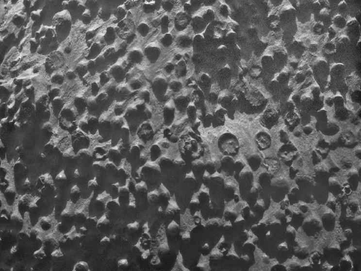 Sphere-shaped rocks on Mars