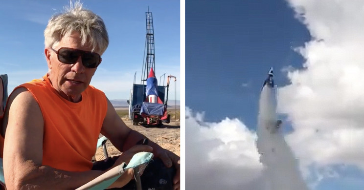 "Flat-Earther ""Mad Mike"" Hughes Dies after Crash-Landing with Homemade Rocket"