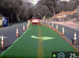 Watch Tesla's New Visualization Software Technology in Action