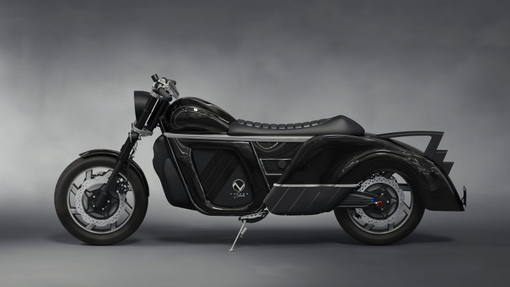Startup Claims Its Electric Motorcycle Will Have a 300-Mile Range