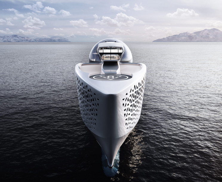 300-Meter Nuclear Megayacht Project Aims to Save the Earth