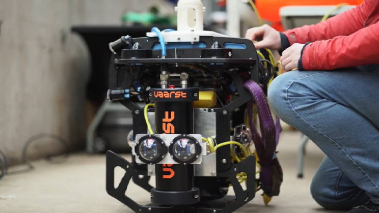 This Autonomous Robot Can Clean Underwater Nuclear Waste