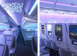 Airbus Just Unveiled a New Futuristic Interior Space for the A330