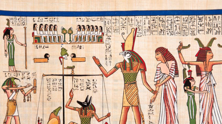 BESSY II Helps Berlin Researchers Unlock Secrets of Egyptian Invisible Ink