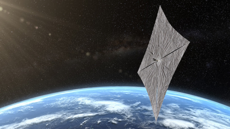 LightSail 2: First Images Released from Fully Deployed Solar Sail