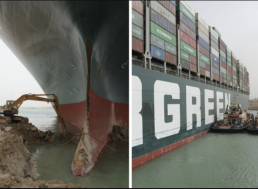 """Ever Given: Ship Partially """"Refloated' After Nearly a Week Blocking Suez Canal"""