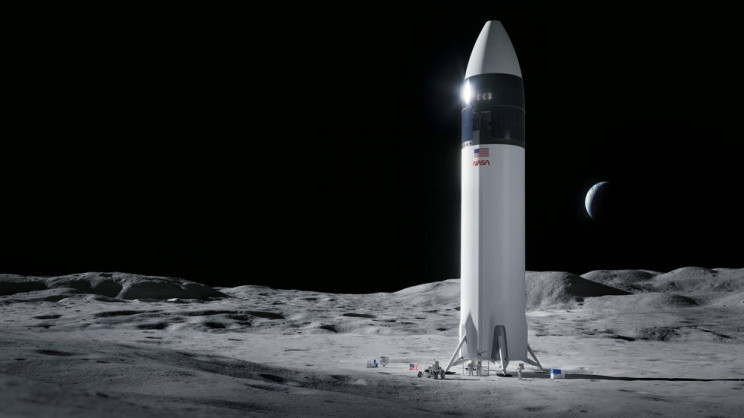 Heavens Hear Thee Blue Origin: NASA Halts SpaceX's Lunar Lander Work