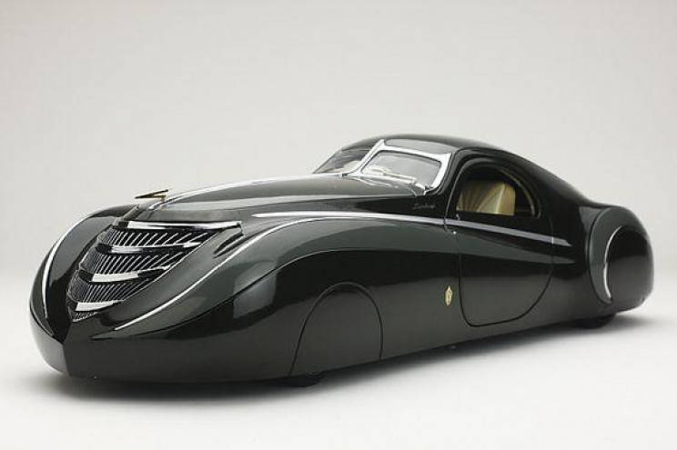 futuristic car designs midnight ghost