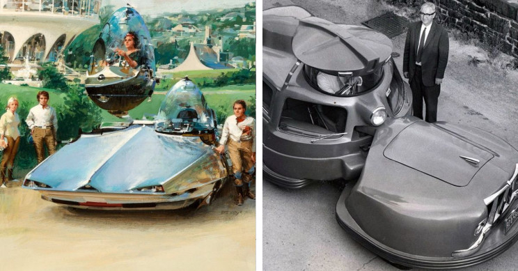 17+ Futuristic Car Designs from Visionaries of the Past