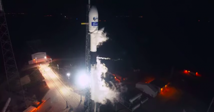 SpaceX Launched a Satellite into Orbit on the Falcon 9, Its 13th Mission of the Year