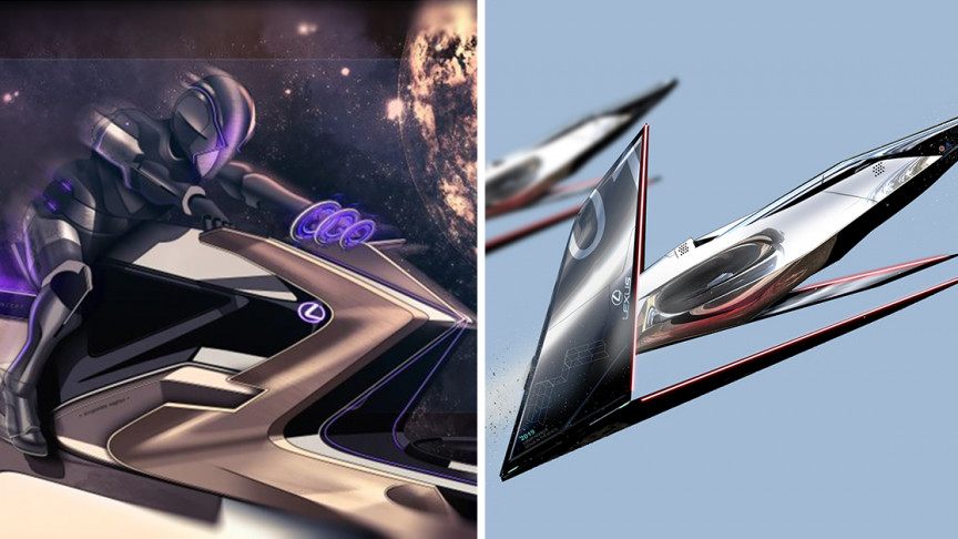 Lexus Concept Designs Show What Lunar Transportation Could Look Like - Interesting Engineering