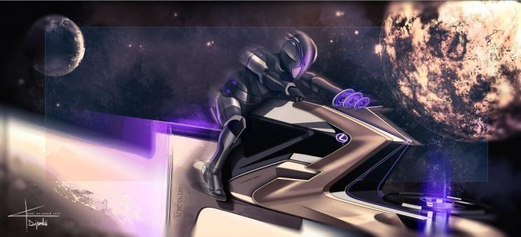 Lexus Concept Designs Show What Lunar Transportation Could Look Like