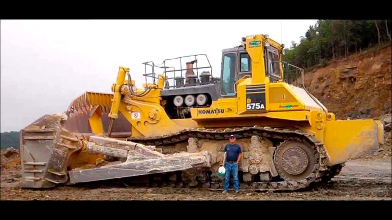 biggest machines bulldozer