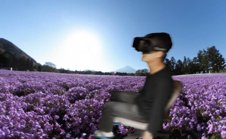 Walking In a Field of Flowers Could be Possible With This VR System