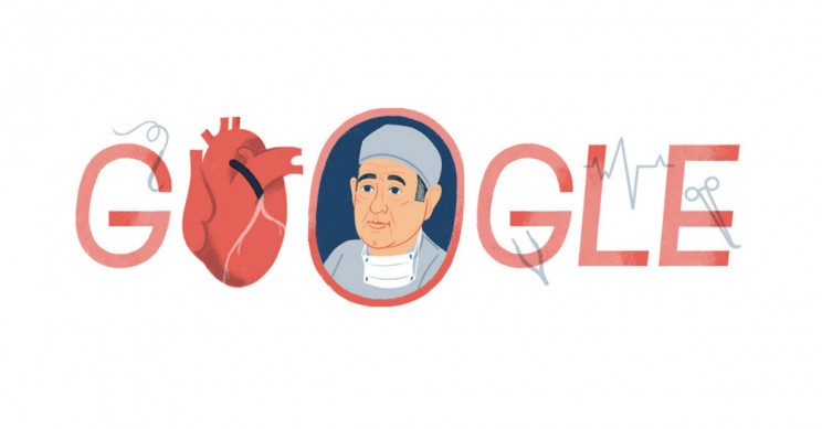 New Google Doodle Celebrates Father of Coronary Bypass Surgery René Favaloro