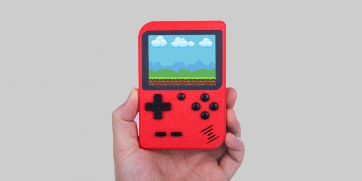 This Retro-Inspired Gaming Console Is Packed with 400 Classic Games