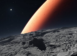 Biomining on Mars and Moon: Earth Bacteria Are Here To Help