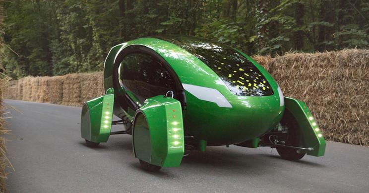 Autonomous Green Robot Cars to Deliver Medicine Around London