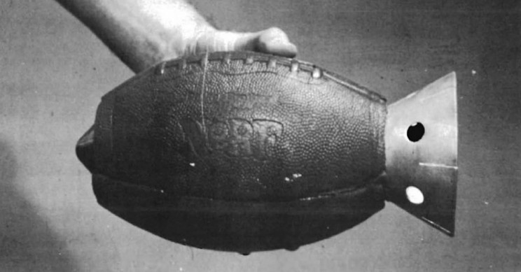 US Army Once Tried to Make Nerf Football Hand Grenades