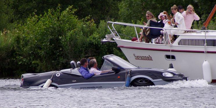 car boats gibbs aquada