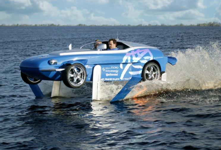 amphibious cars rinspeed