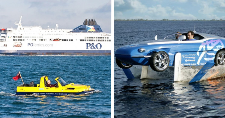 11 Thrilling Cars To Drive on Land and Sail on Water