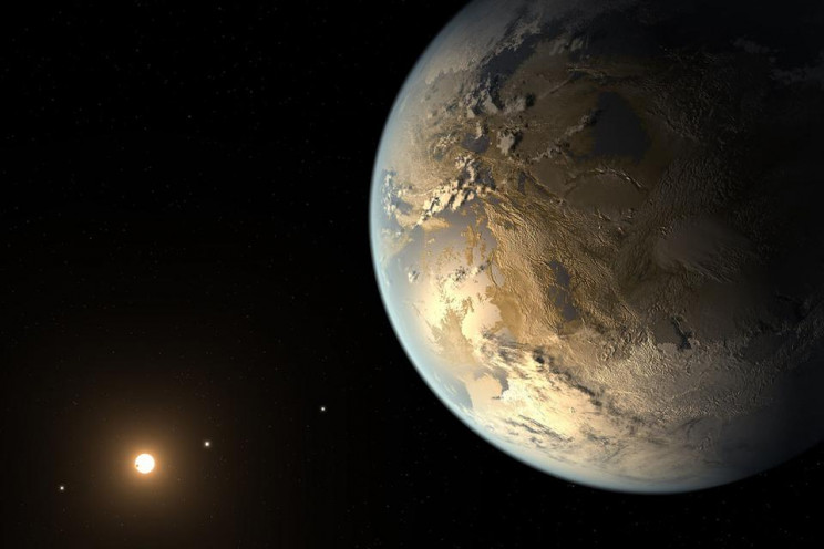 Rendering of the first validated Earth-size planet (Credit: NASA Ames/SETI Institute/JPL-Caltech)