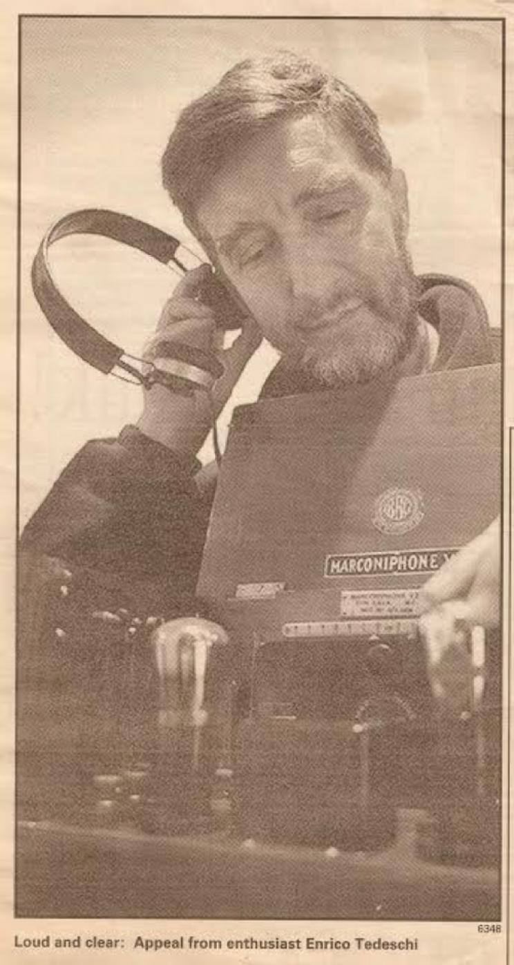 Enrico Tedeschi collection-marconi's phone