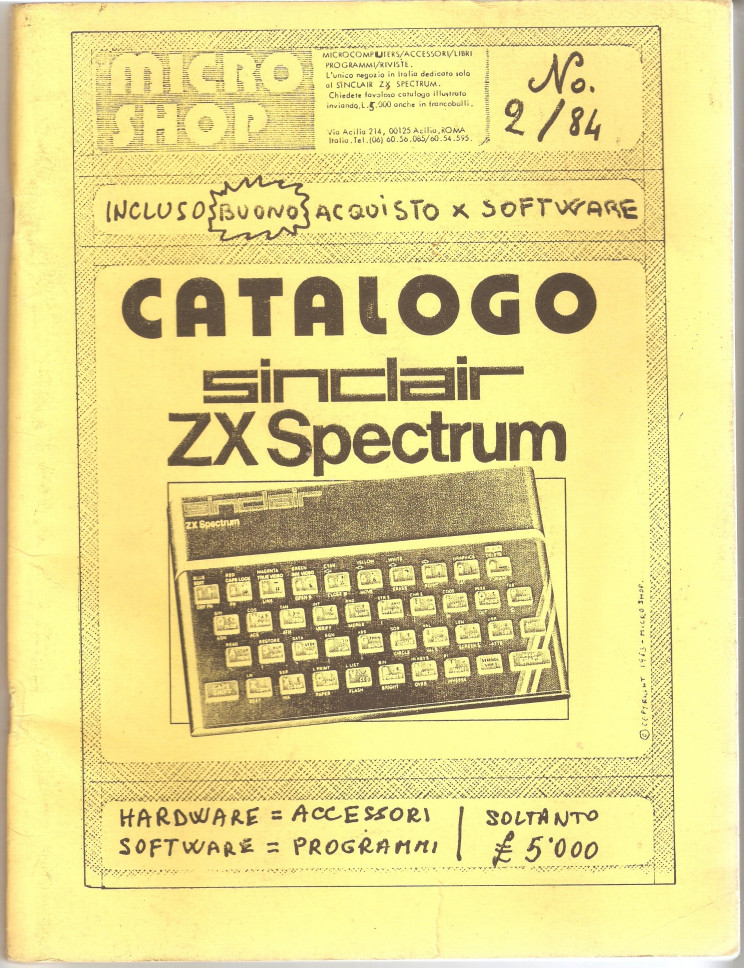 Sinclair catalogue