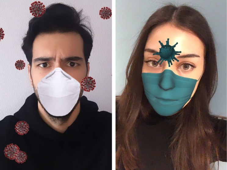 Controversy over Coronavirus-Themed AR Instagram Filters