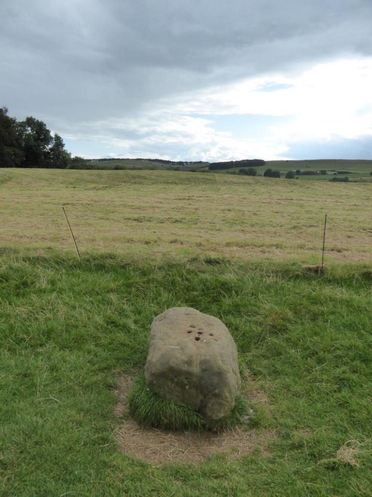 Boundary Stone, Eyam UK