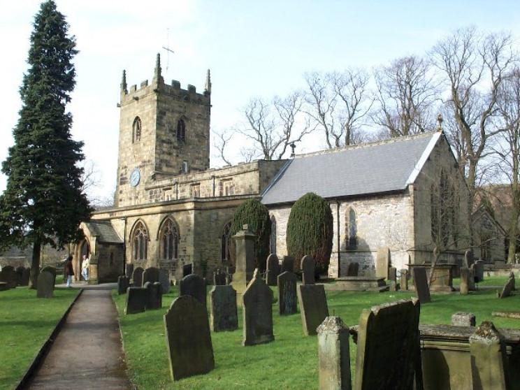 Eyam Church UK