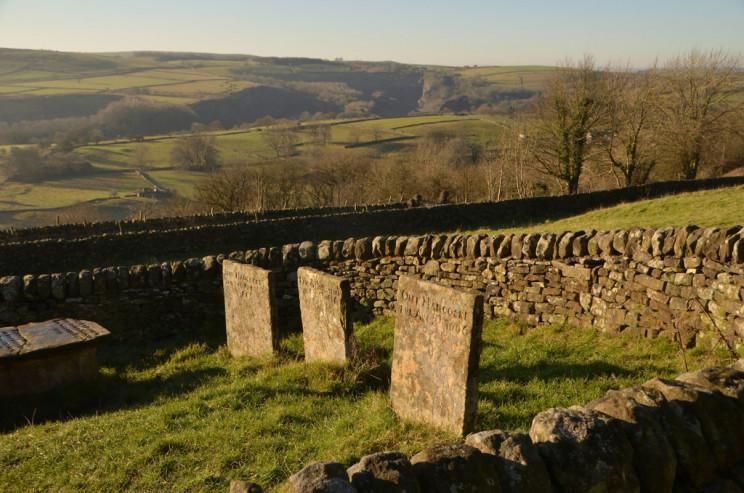 Three Riley Graves, Eyam, Derbyshire UK