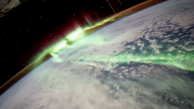 Watch the Awe-Inspiring Video of Southern Lights From the ISS